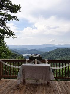 An outdoor wedding at Sugar Hollow Retreat #Sugar #Hollow #Retreat #Outdoor #Wedding #Butler #TN #Tennessee #Mountain #Simple #Rustic