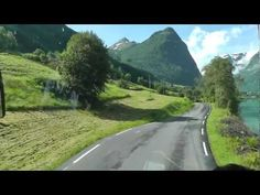 Fjord Norway: Rallarvegen cycle route - YouTube