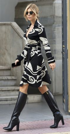 Would love a fun but conservative dress that I can wear both to work and outside of work with black tights when it's cold.