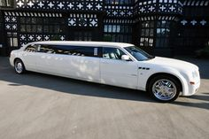 White Limousine - to pick us up at my house and bring us to breakfast then to shady wagon!