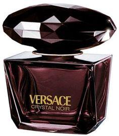 Crystal Noir by Versace Perfume for Women oz Eau de Parfum Spray - from my Perfume Scents, Perfume And Cologne, Best Perfume, Perfume Bottles, Versace Crystal Noir, Boutique Parfum, Catty Noir, Beautiful Perfume, Vintage Perfume Bottles