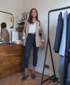 Office Outfits Women, Casual Work Outfits, Blazer Outfits, Business Casual Outfits, Professional Outfits, Work Attire, Classy Outfits, Chic Outfits, Trendy Outfits