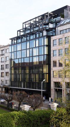 Sense Hotel in Sofia by Lazzarini Pickering Architetti