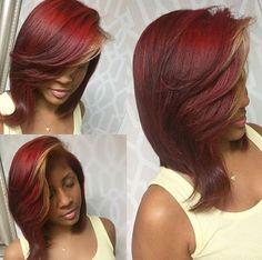 Dope color via @kbbsalon - https://blackhairinformation.com/hairstyle-gallery/dope-color-via-kbbsalon/