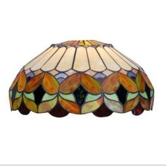 Lamp Shades Tiffany Style: Tiffany style stained glass lamp shade,Lighting