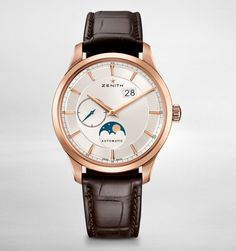 Zenith Elite Moonphase - Rose Gold watch - Moon Phase watch