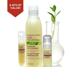 Try our NEW Anti-Aging products at 20% off when you purchase all 3 in a Skin Care Regimen kit! No promo code needed!