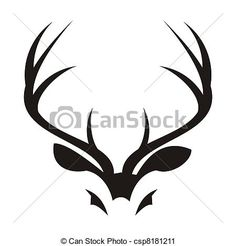 antlers clipart - Google Search