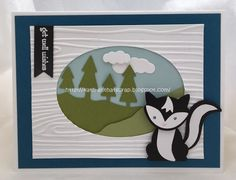 Kath Ricks - Foxy Friends and Always an Adventure. Click on the picture to visit Kath's blog and leave a comment. Pinned from Kylie Bertucci's Stampin' Up!® Pin Hightlights