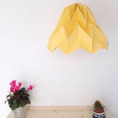lampadario origami : Lampadario Origami Lemonade di DearMyBear su Etsy