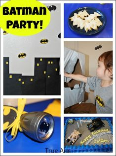 Having a theme makes party planning easier and more fun!If your son's birthday is coming up, check out our list of 43 Dashing DIY Boy First Birthday Themes. First Birthday Party Themes, Birthday Themes For Boys, Boy First Birthday, Birthday Ideas, Half Birthday, Batman Birthday, Superhero Birthday Party, Batman Party Decorations, First Birthdays