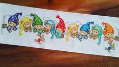 Cross Stitch For Kids, Mini Cross Stitch, Cross Stitch Designs, Cross Stitch Patterns, Baby Boy Blankets, Christmas Baby, Needle And Thread, Cross Stitching, Needlework