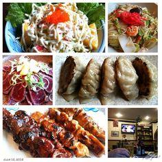 #カニサラダ #中華丼 #牛肉たたき #餃子 #焼き鳥 #サッカー #ビール #居酒屋 螢 #izakaya #japanese #food #yakitori #gyouza #dinner