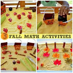Fall Math Activities from Blog Me Mom