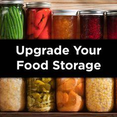 Emergency Preparedness Food, Emergency Food Storage, Emergency Food Supply, Dry Food Storage, Long Term Food Storage, Emergency Preparation, Survival Food, Freezer Storage, Survival Tips