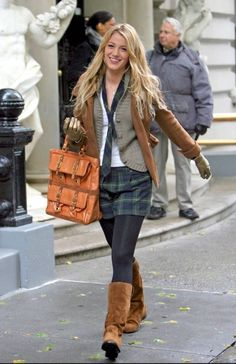 serena van der woodsen school uniform - Google Search