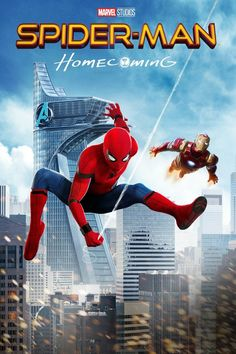 Spider-Man [Tom Holland] begins to navigate his new identity as the web-slinging super hero under the watchful eye of his mentor Tony Stark. Superhero Movies, Marvel Movies, Spider Man Homecoming 2017, Homecoming Posters, Av Receiver, Movie Info, Michael Keaton, Columbia Pictures, Tom Holland