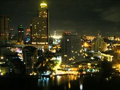 Our view from the balcony - The Peninsula Hotel, Bangkok