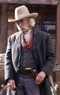 Ever a cowboy hat look better? Still of Sam Elliott in The Golden Compass Love this man! Westerns, Sam Elliott Pictures, Katharine Ross, The Golden Compass, Real Cowboys, His Dark Materials, Tom Selleck, The Lone Ranger, Cowboy Up