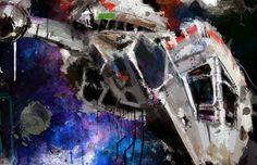 "Firefly Serenity Art Panel, 11"" x 17"" art print mounted on board"