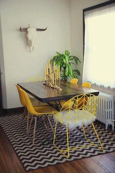 Julie's 700 Square Foot Art Deco Minneapolis Apartment Interior Design Inspiration, Home Decor Inspiration, Home Interior Design, Minneapolis Apartment, Art Nouveau, Estilo Art Deco, Pretty Room, Home And Deco, Decoration