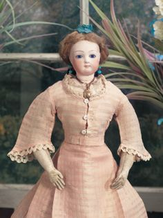 First Blush: 51 French Bisque Poupee Attributed to Jumeau
