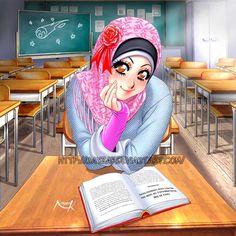 Beautiful in Hijab by Nayzak.deviantart.com on @deviantART