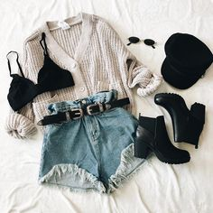 Wear or tear? 😍✨ New arrivals online now + direct shop links to each item in our bio👽🖤 Cute Comfy Outfits, Cute Summer Outfits, Pretty Outfits, Stylish Outfits, Fall Outfits, Beautiful Outfits, Teenage Outfits, Teen Fashion Outfits, Cute Fashion