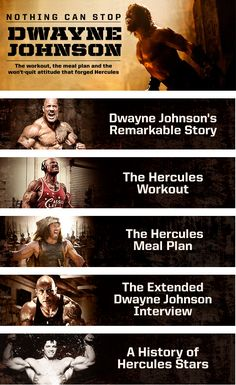 The Rock's Hercules Workout and Meal Plan | Muscle & Fitness