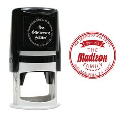 Madison Self Inking Stamper
