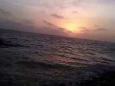 Sunset at Dwarka Sunset point Gujarat