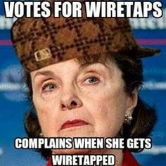 Democrat Senator Dianne Feinstein, CA complains. Evil People, We The People, Dianne Feinstein, Liberal Logic, Know The Truth, Politicians, Along The Way, That Way, Wake Up