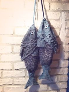 Crochet fish bags by mj BLOG 201210