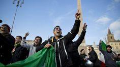 #Forconi a Roma. Protesta anche #Casapound