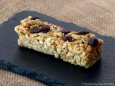 Chocolate Chip Granola Bars {Barritas de Cereales con Pepitas de Chocolate}