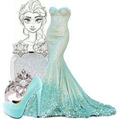 """Elsa"" by leahfuturevet on Polyvore"