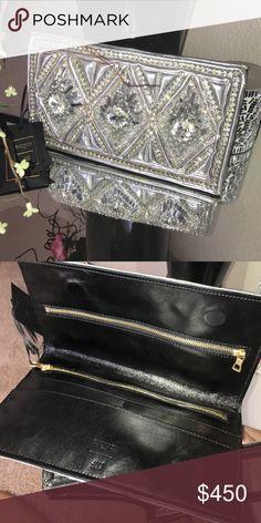 Balmain for H&M metallic clutch Balmain for H&M metallic clutch Balmain Bags Clutches & Wristlets