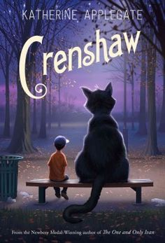 "Crenshaw by Katherine Applegate| Heather W. says: ""Is it possible to fall in love with a book in the first 50 pages? If it's this book, the answer is 'yes!'"""