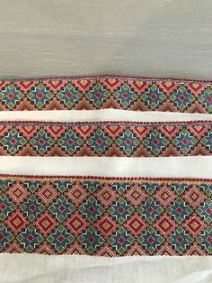 Afghan Clothes, Cross Stitch Pillow, Folk Costume, Cross Stitch Patterns, Embroidery, Pillows, Accessories, Beautiful, Art