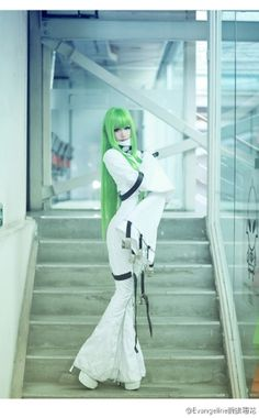 C.C. from Code Geass HAHAHAHH LOVE THIS PIC!!!!! :O