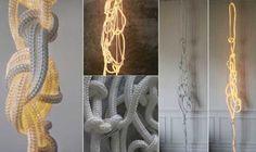 ideias de lustre macramê - Pesquisa Google