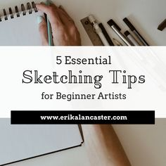 Drawing Techniques Sketching Tips for Beginners - In this post, I share five useful sketching tips for beginner artists. How to sketch tips. Drawing for beginners. Drawing Lessons, Drawing Tips, Drawing Ideas, Realistic Drawings, Cool Drawings, Pencil Drawings, Face Drawings, Lancaster, Sketch Note