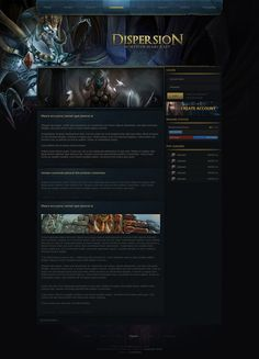Dispersion - World of Warcraft Design by Evil-S