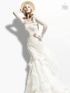 Fashion Friday: Yolan Cris 2013 'Seven Promises' Stunning Bridal Collection