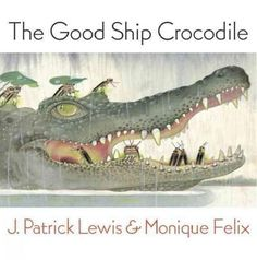When the skies of Africa darken with rain and the river swells, a good-natured crocodile named Snout lends his broad back to many stranded animal neighbors. After he ferries soggy fireflies, dripping