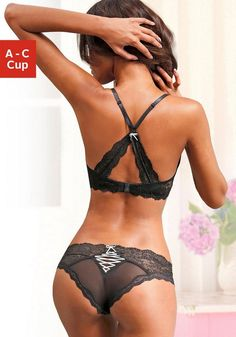 LASCANA Set: Push-up-BH + Panty (2-tlg.)