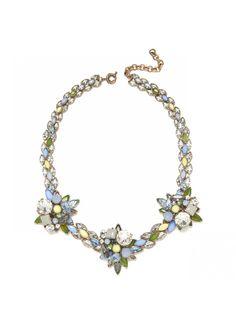 Meadow Collar Necklace. Jeweliq.