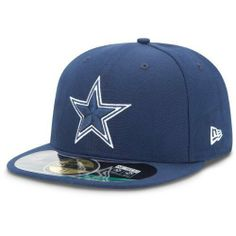 New Era Men s Dallas Cowboys Classic Cap Fitted cap Polyester Cowboys star  logo raised embroidery on front 8b3ece222