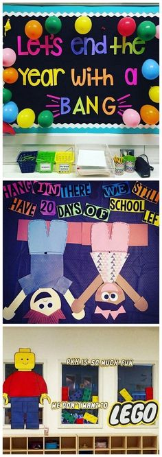 End of the school year bulletin board ideas - so fun for a countdown to summer! End of the school year bulletin board ideas - so fun for a countdown to summer! Summer Bulletin Boards, Library Bulletin Boards, Preschool Bulletin Boards, Bulletin Board Ideas For Teachers, April Bulletin Board Ideas, Preschool Door, Bullentin Boards, Elementary Bulletin Boards, Teacher Bulletin Boards