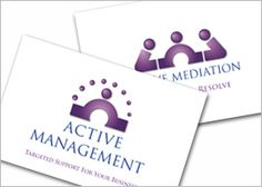 The 9 best business card design images on pinterest business cards claire sibley active management active mediation business card design colourmoves